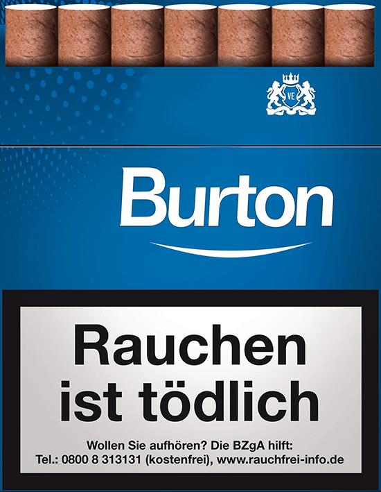Burton Blue Zigarillos 3,00 €