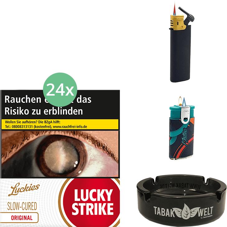 Lucky Strike Red (3 Stangen) 24 x 31 Stück