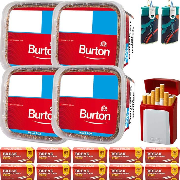 Burton 4 x 350g mit 2000 Plus Hülsen