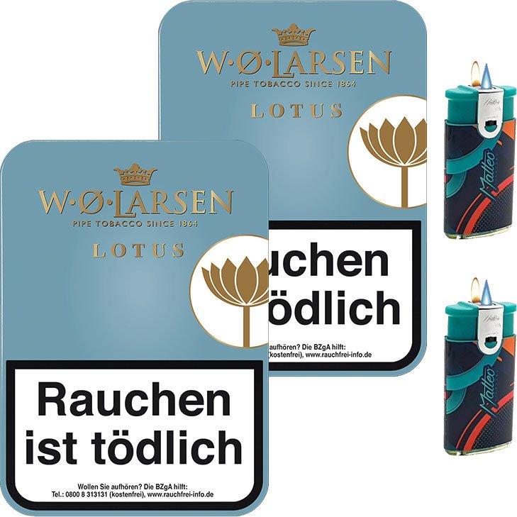 W.O. Larsen Lotus 2 x 100g