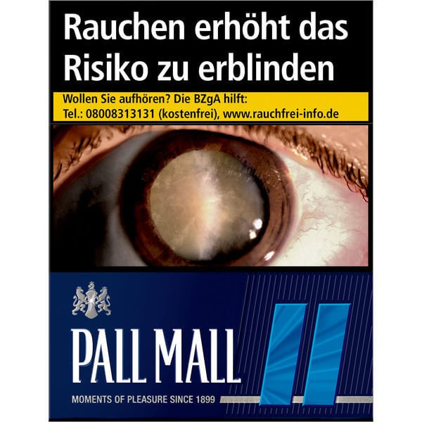 Pall Mall Blue 11 €