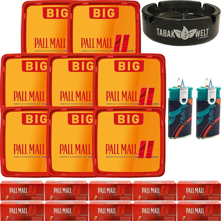 Pall Mall Allround Red 8 x 120g mit 2000 Hülsen