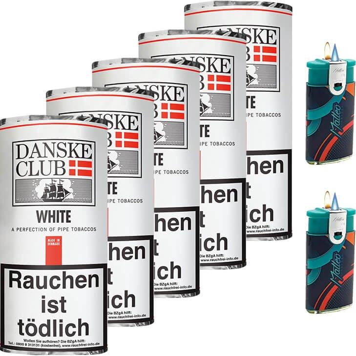 Danske Club White 5 x 50g