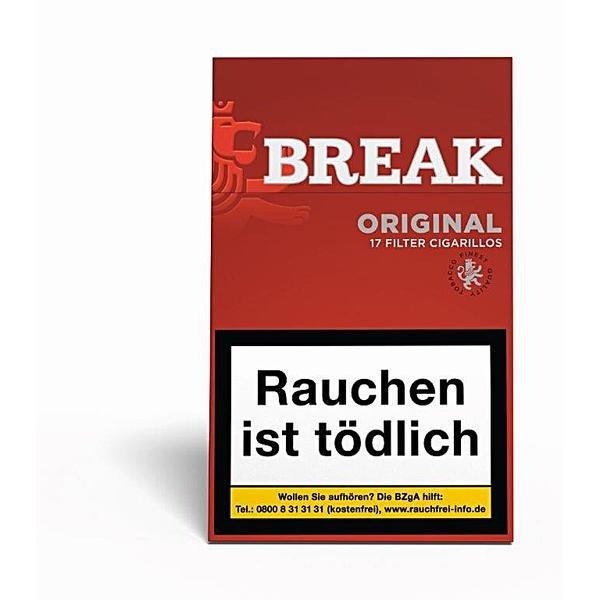 Break Original Zigarillos mit Filter