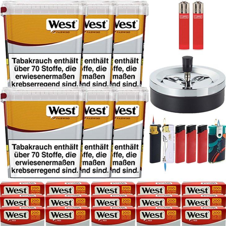West Yellow Fairwind 6 x 310g mit 3000 Hülsen
