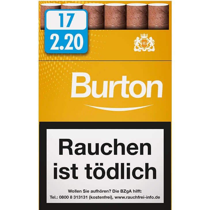 Burton Vanilla / Gold Zigarillos 2,20 €