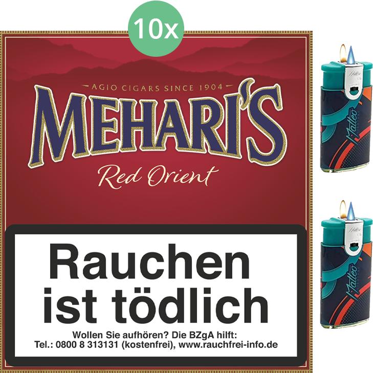 Mehari's Red Orient 10 x 20 Stück