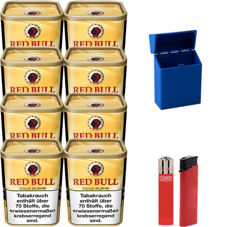 Red Bull Gold Blend 8 x 120g mit Etui