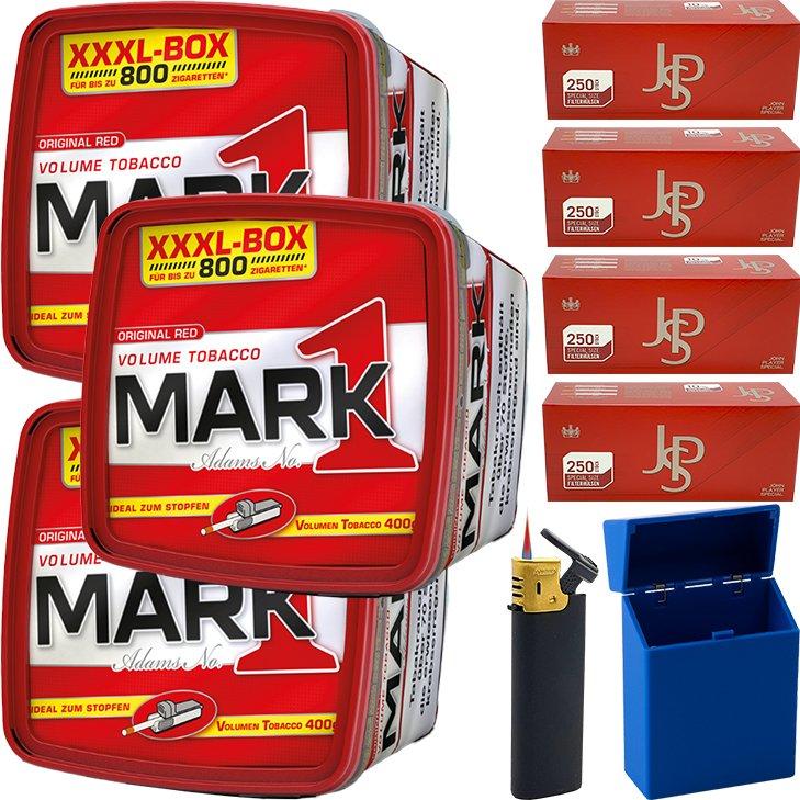Mark 1 - 3 x 400g mit 1000 Special Size Hülsen