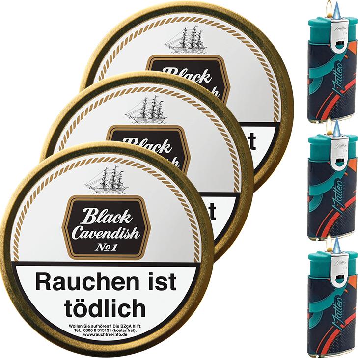 Black Cavendish No. 1 - 3 x 100g
