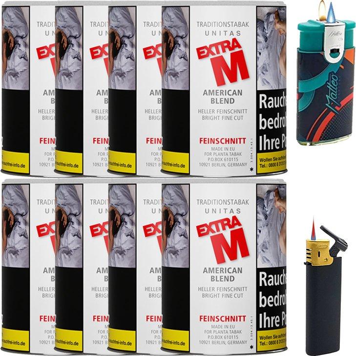 Unitas Extra M 8 x 95g mit Feuerzeugen