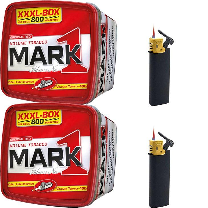 Mark 1 - 2 x 400g mit Strumfeuerzeugen