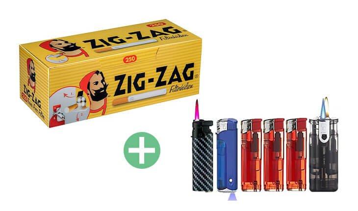 Zig-Zag Filterhülsen 20 x 250