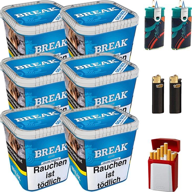 Break Blue 6 x 230g mit Etui