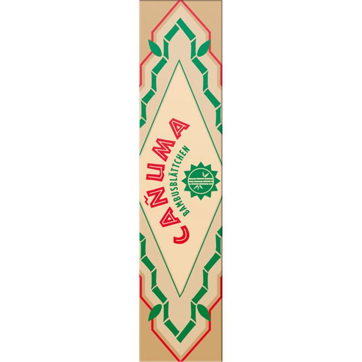Canuma Bambusblättchen King Size 32 Blatt