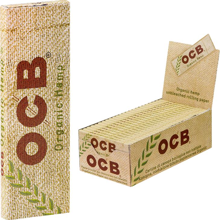 OCB Organic Hemp 50 x 50 Blatt