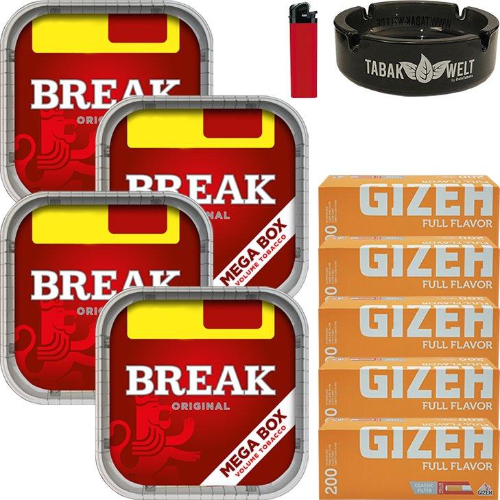 Break Original 4 x 170g mit 1000 Hülsen
