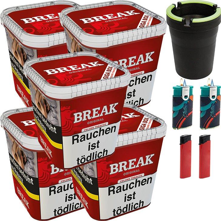 Break Original 5 x 230g mit Aschenbecher
