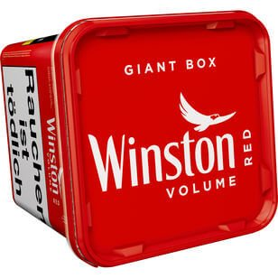 Winston Volumentabak Red Giant Box 260g