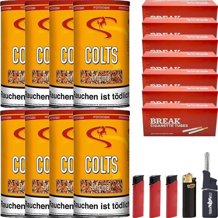 Colts Original 8 x 170g mit 1400 Hülsen