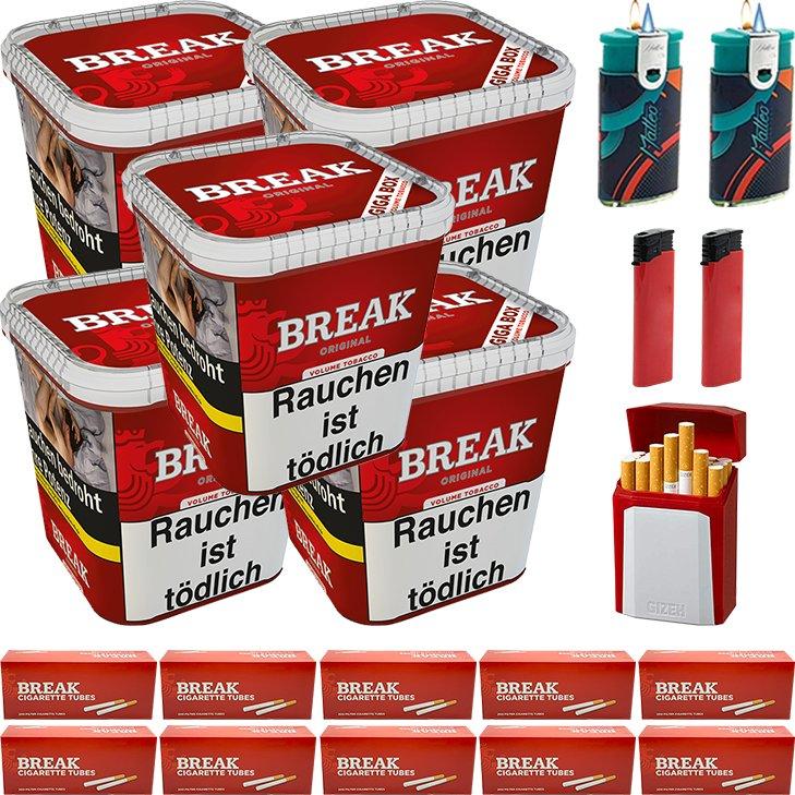 Break Original 5 x 230g mit 2000 Hülsen