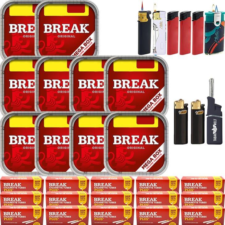Break Original 10 x 170g mit 3000 Plus Hülsen