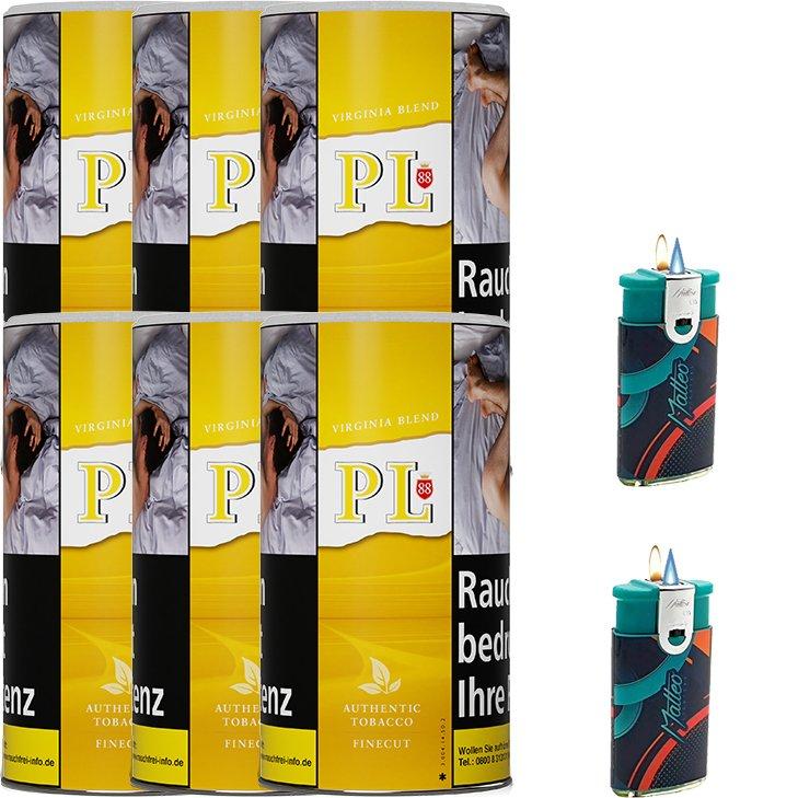 PL88 Virginia Blend 6 x 200g Tabak