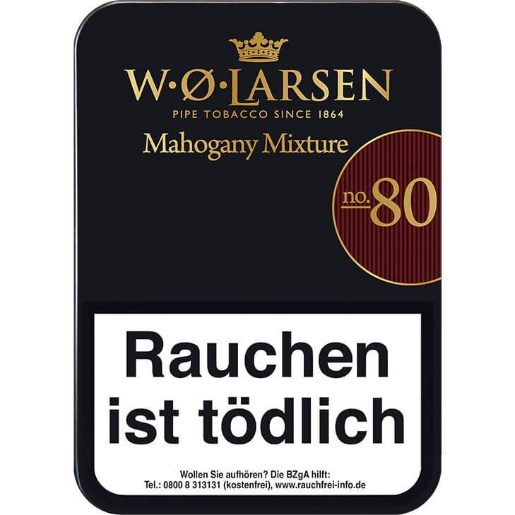 W. O. Larsen Mahogany Mixtrue No. 80 100g