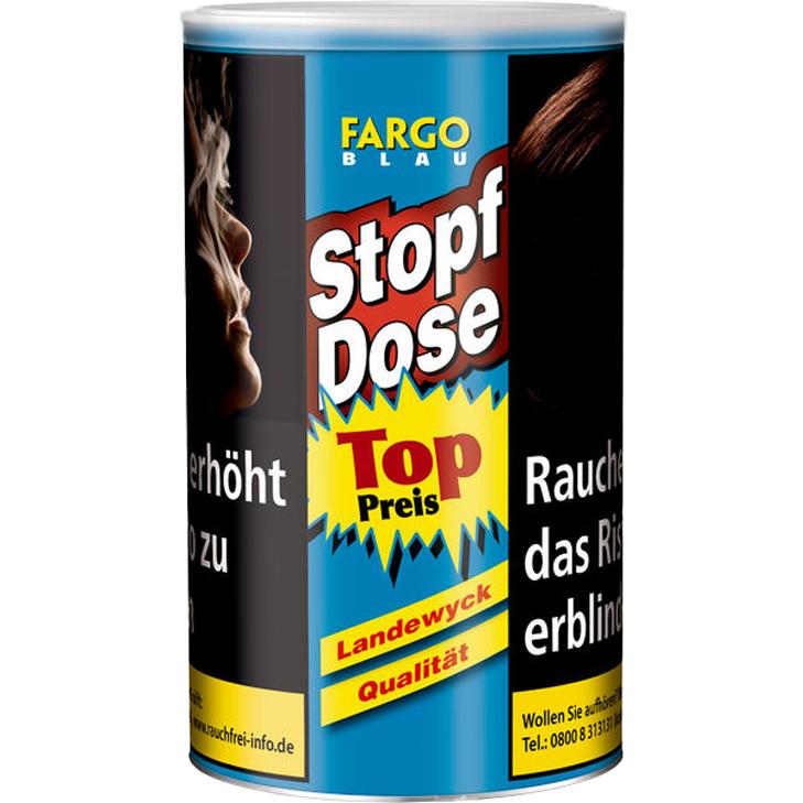 Fargo Stopf-Dose Blau 140g