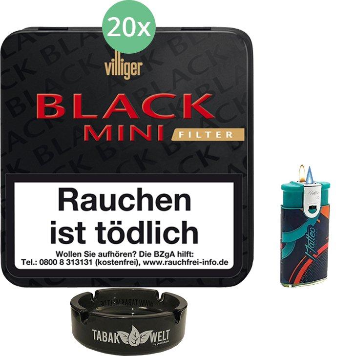 Villiger Black Mini Sumatra Filter 20 X 20 Stück
