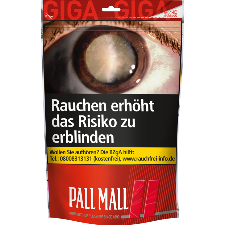 Pall Mall Red 125g