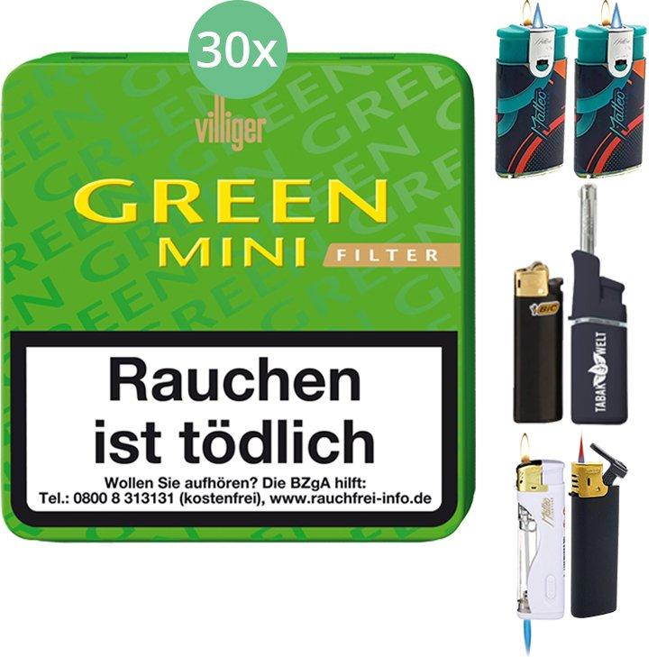 Villiger Green Mini Filter 30 X 20 Stück