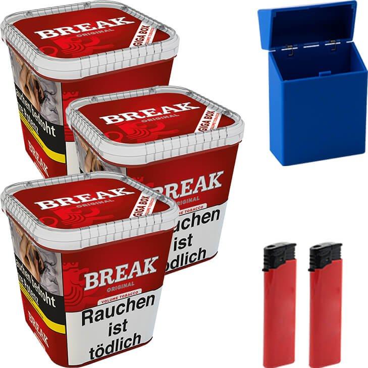 Break Original 3 x 230g mit Etui