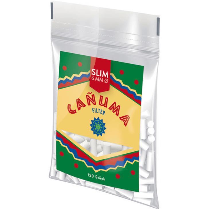 Canuma Filter Tips 6mm 150 Stück