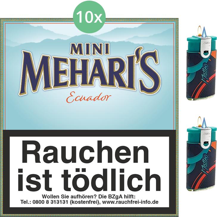 Mehari's Mini Equador 10 x 20 Stück