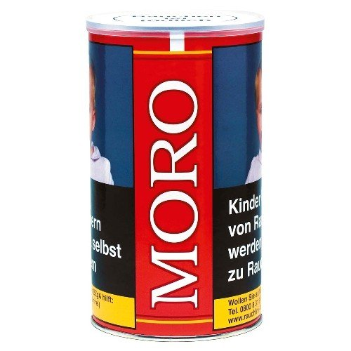Moro Rot 8 x 180g mit 2000 Special Size Hülsen