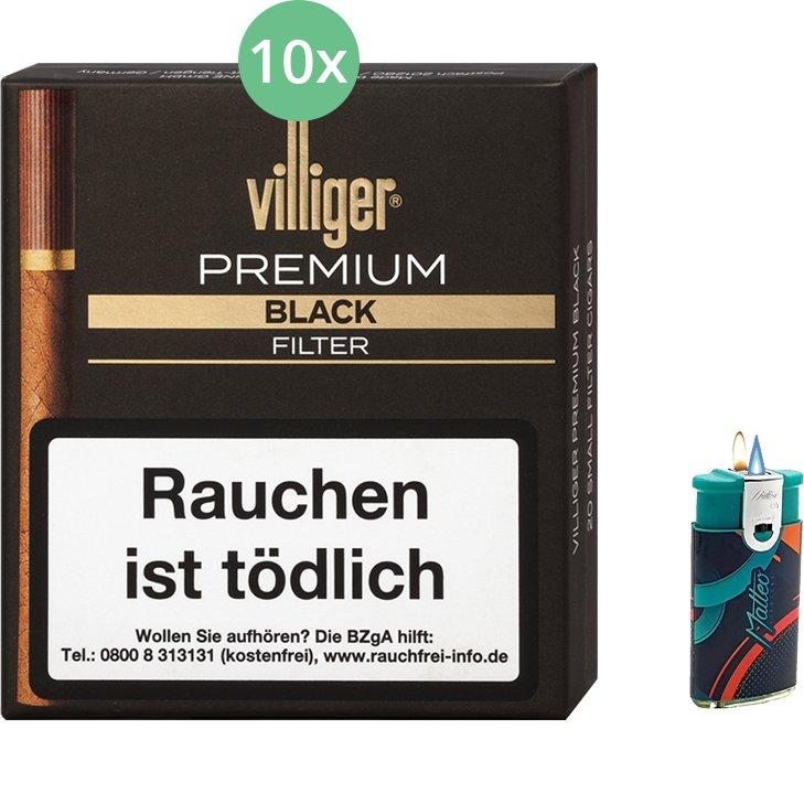 Villiger Premium Black Filter 10 X 20 Stück