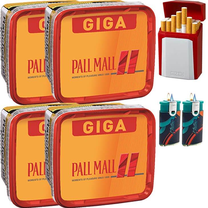 Pall Mall Allround Red 4 x 260g mit Etui