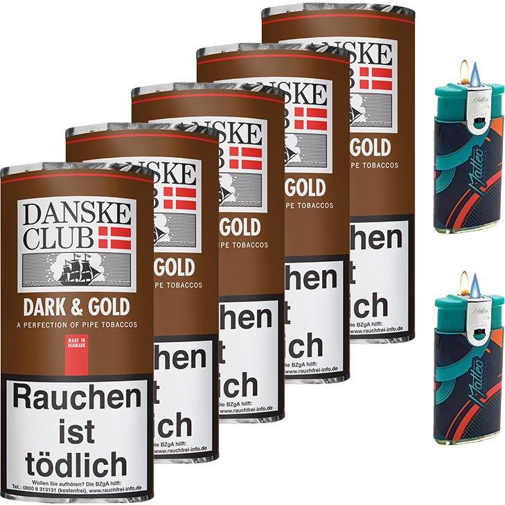 Danske Club Dark & Gold 5 x 50g