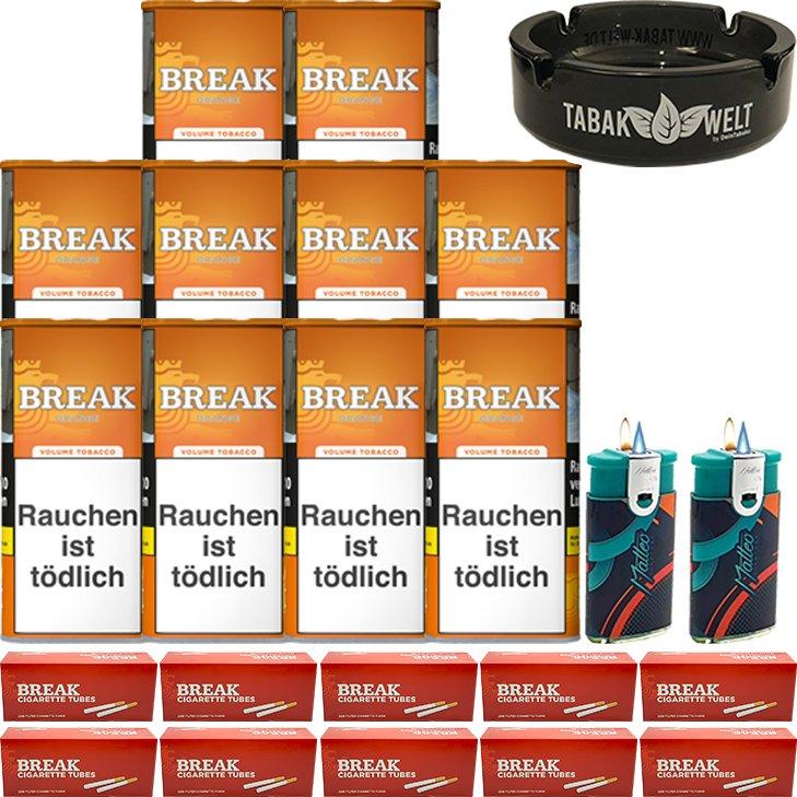 Break Orange 10 x 110g mit 2000 Hülsen