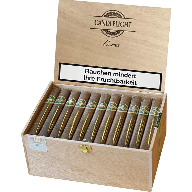 Candlelight Corona Brasil 2 x 50 Zigarren mit Aschenbecher