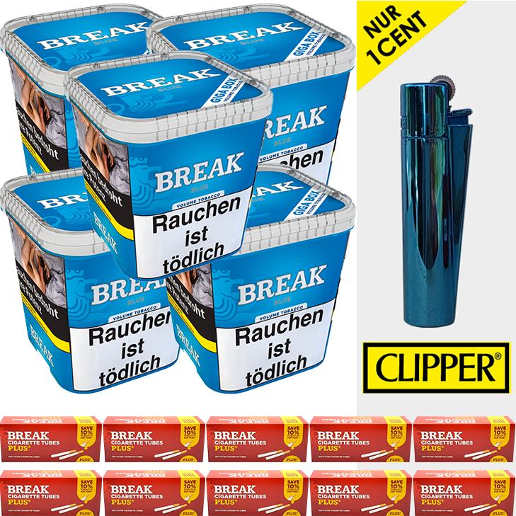 Break Blue / Blau 5 x 230g - 2000 Extra Size Hülsen