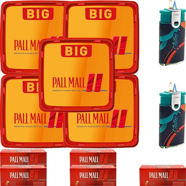Pall Mall Allround Red 4 x 120g mit 1000 Hülsen