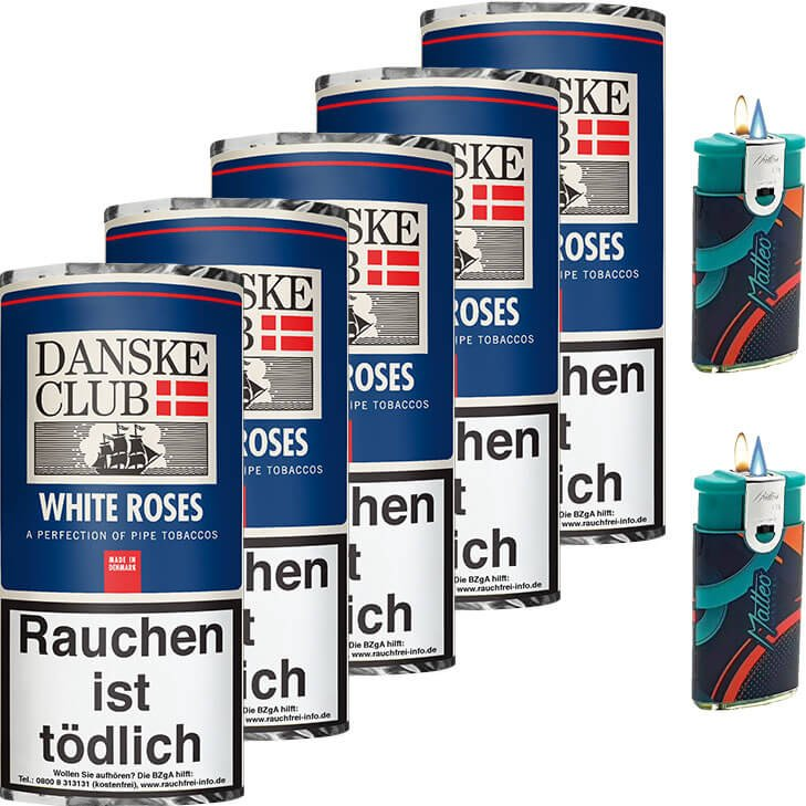 Danske Club White Roses 5 x 50g