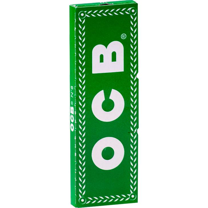 OCB Grün 50 x 50 Blatt