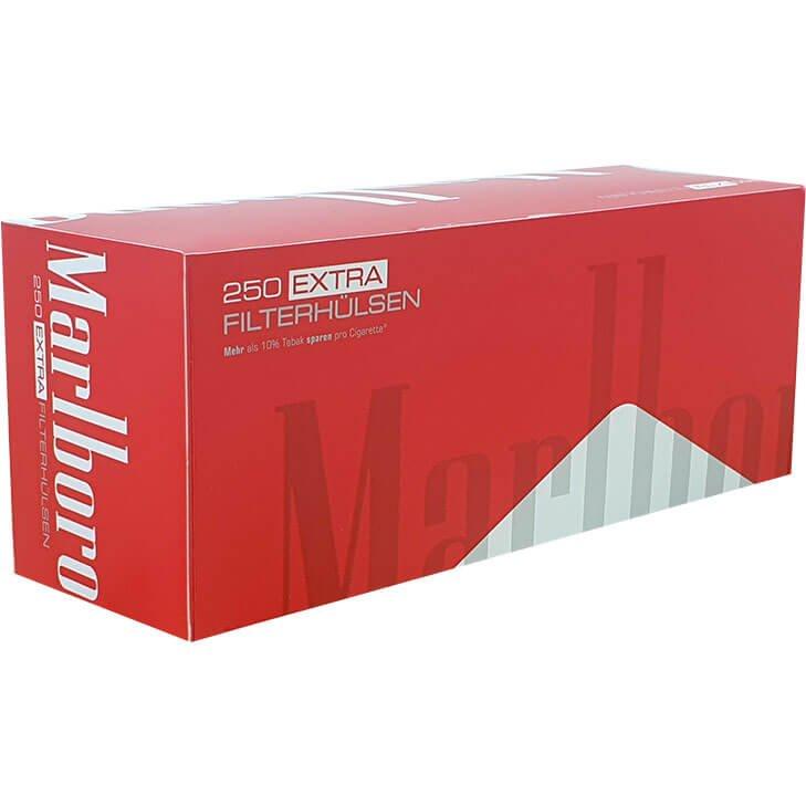 Marlboro Red Extra Filterhülsen 250