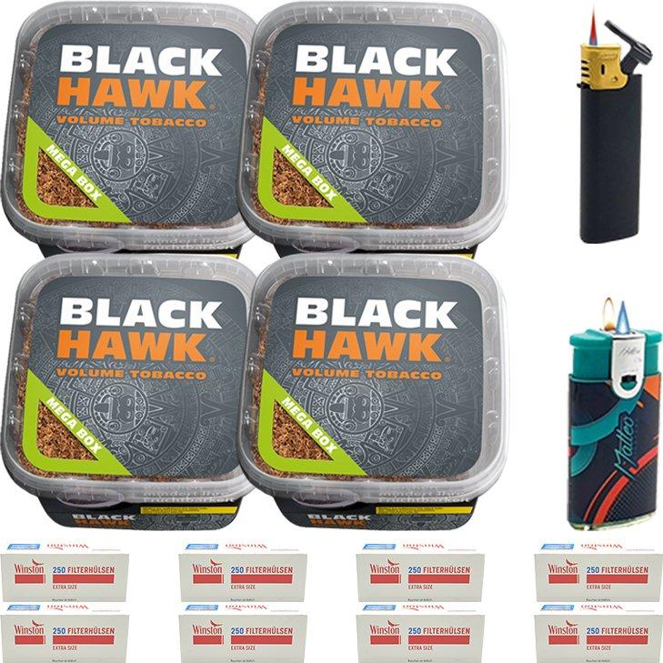 Black Hawk 4 x 230g mit 2000 Special Size Hülsen