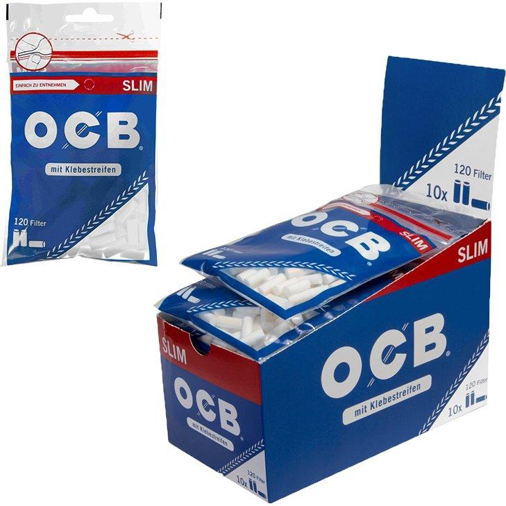 OCB Slim Filter 6 mm 10 x 120 Stück