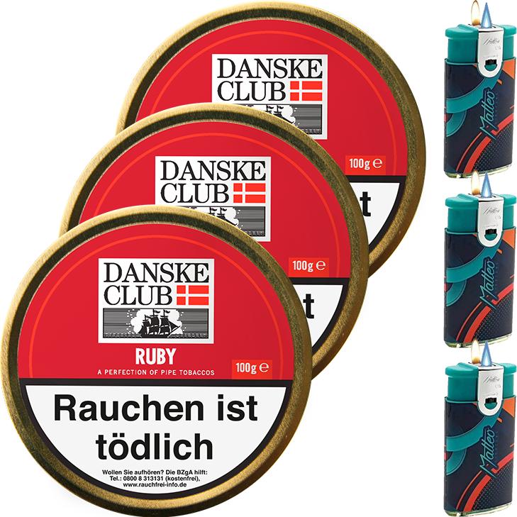Danske Club Ruby 3 x 100g