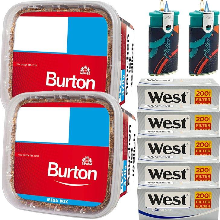 Burton 2 x 350g mit 1000 Silver Hülsen